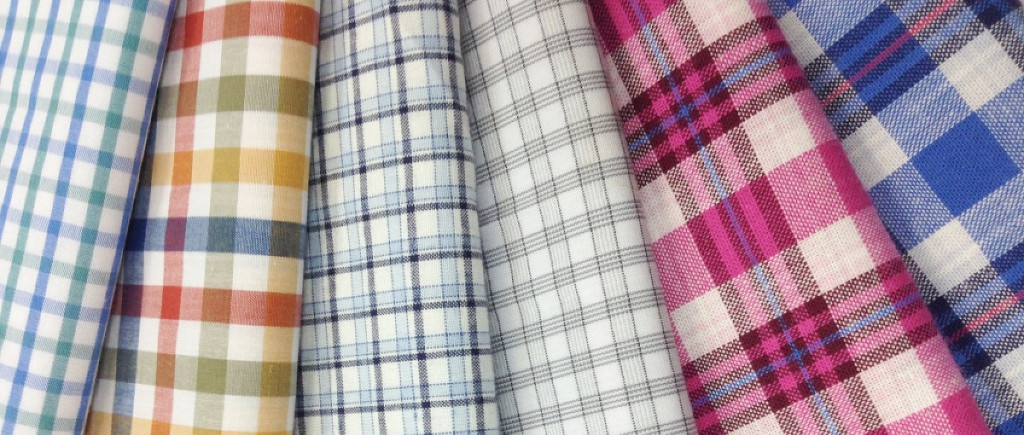 Ткани, используемые для мужских рубашек