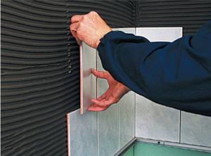 Облицовка стен керамической плиткой: ванная, кухня, столовая