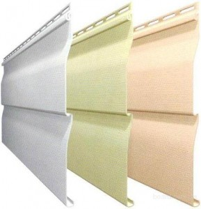 Сайдинг - панели для обшивки фасада