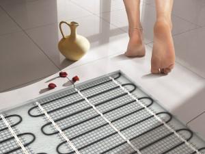 Особенности и установка теплого водяного пола в ванной комнате